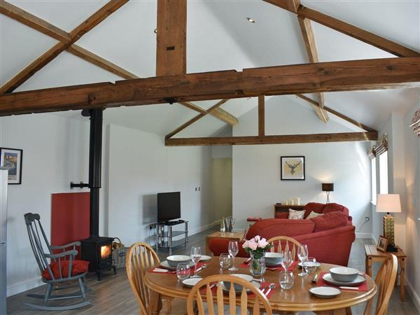 Chalet Farm Holidays - The Stables, Langtoft, near Driffield, North Humberside with hot tub