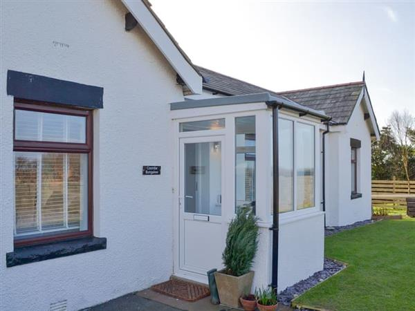 Coombe Bungalow, Silecroft, near Millom, Cumbria with hot tub