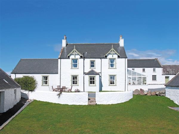 Corsewall Estate Holiday Cottages - High Clachan Farmhouse, Wigtownshire