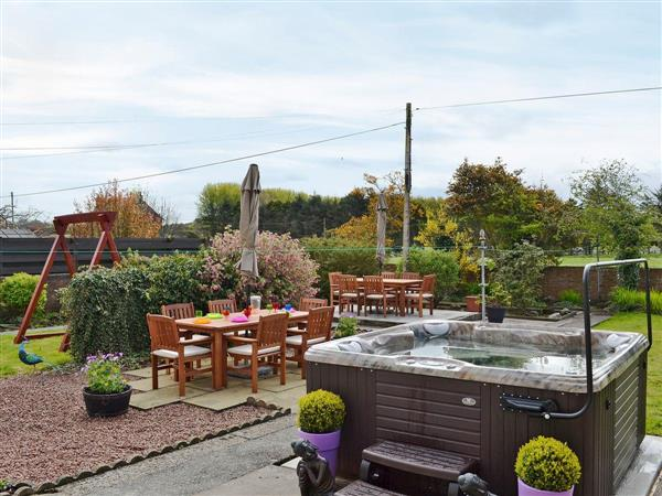 Kinvara, Stranraer, Dumfries and Galloway, Wigtownshire with hot tub