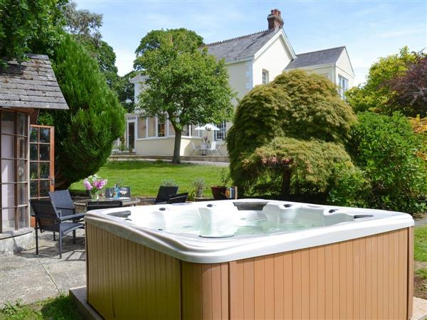 Ludd Farm, Ugborough, Devon with hot tub