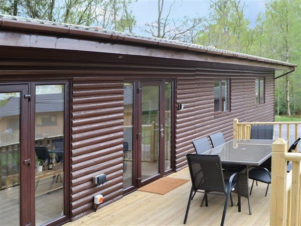 Otterburn Hall Lodges - Reivers Rest, Otterburn, near Bellingham, Northumberland with hot tub