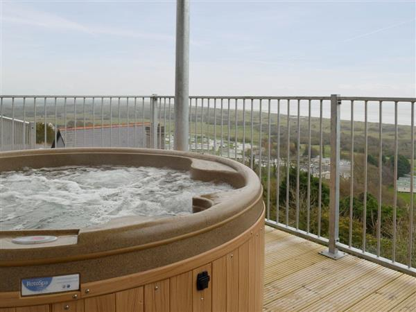 Pendine Manor Apartments - Sunbeam, Pendine, near Laugharne, Carmarthenshire, Dyfed with hot tub