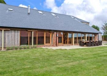 Ranby Hill Barn, Horncastle, Lincolnshire with hot tub