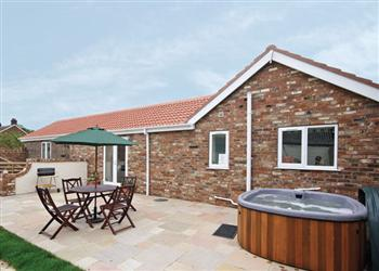 Robins Barn, Skegness, Lincolnshire with hot tub