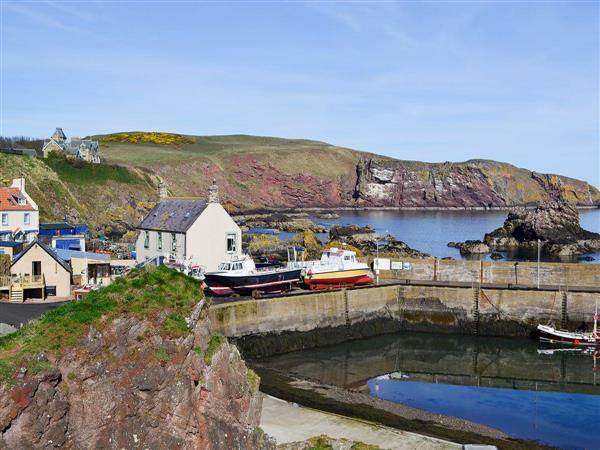 Rock Cottage, St Abbs, near Eyemouth, The Scottish Borders, Berwickshire
