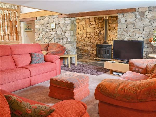 The Barn, Corney, nr. Bootle, Cumbria with hot tub