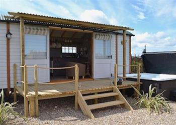 The Swaledale, Burton Fleming, near Filey, North Humberside with hot tub