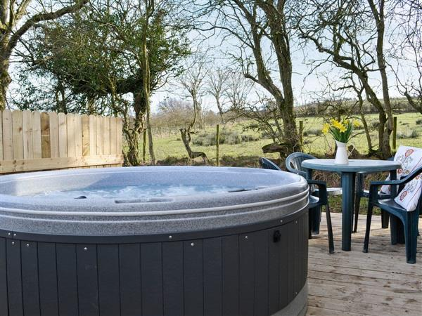 Wallace Lane Farm Cottages - Kestrel Cabin , near Caldbeck and Uldale, Cumbria with hot tub