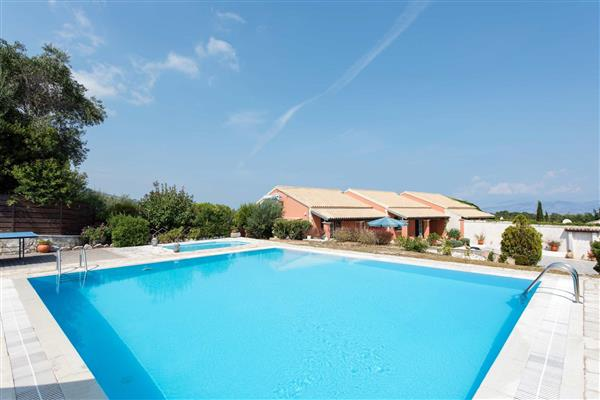 Villa Cesar, Agios Stefanos, Corfu With Swimming Pool