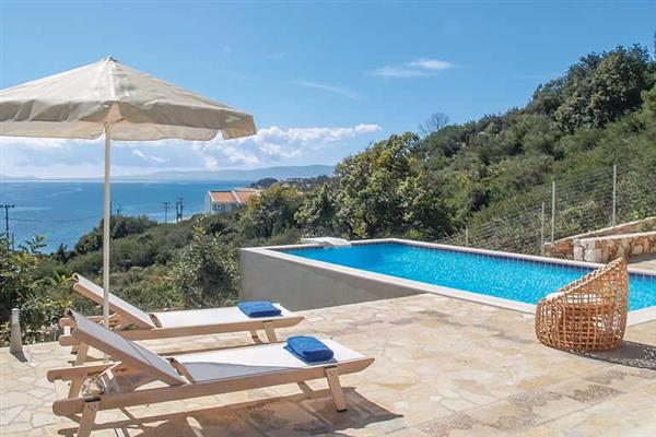 Villa Mare, Skala, Kefalonia With Swimming Pool