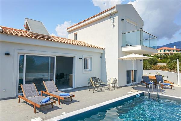 Villa Solemare, Spartia, Kefalonia With Swimming Pool