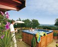 Enjoy your time in a Hot Tub at Banwy Lodge; Welshpool