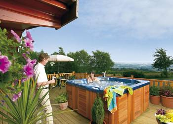 Belan Bach Lodges, Welshpool