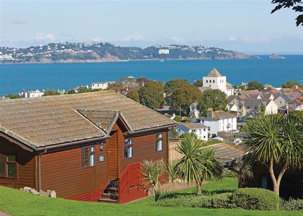 Comfort Plus 6 Lodge, Paignton, Devon with hot tub