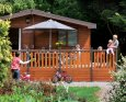Have a fun family holiday at Larches Deluxe 4 Lodge; Blairgowrie, Perthshire