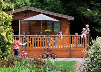 Fantastic lodges at Blairgowrie
