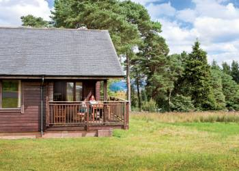 Fantastic lodges at Calvert Trust
