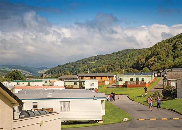 Lodge breaks at Clarach Bay Holiday Village