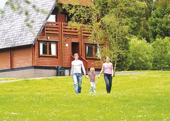 Enjoy a leisurely break at Kielder Water Lodges