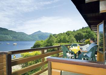 Enjoy a leisurely break at Loch Lomond Holiday Park