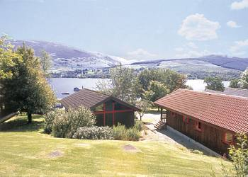 Have a great lodge holiday at Lochearnhead Loch Side