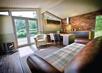 Rustic Lodge 2 VIP, Newark, Perlethorpe with hot tub