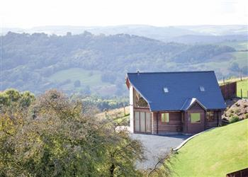Valley View Lodge, Llandinam, Little London with hot tub