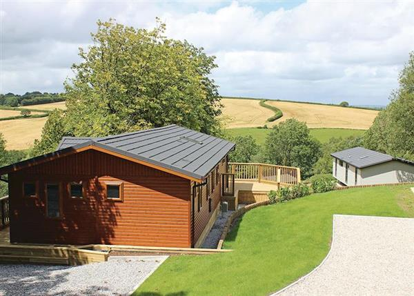 Ash Lodge (Pet), South Molton, Devon with hot tub
