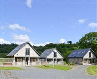 Mill Race Lodges in Llangunllo, Knighton