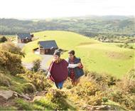 Slate House Lodges in Little London, Llandinam