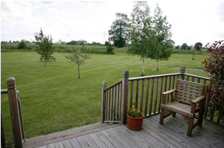 Views of the Suffolk countryside at Laxfield Lodges