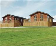 Weston Wood Lodges in Weston-on-Trent, Derbyshire