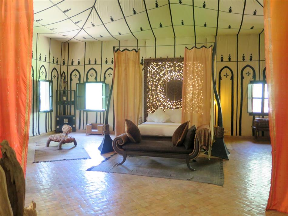 Bedroom in Moroccan Lodge, Morocco