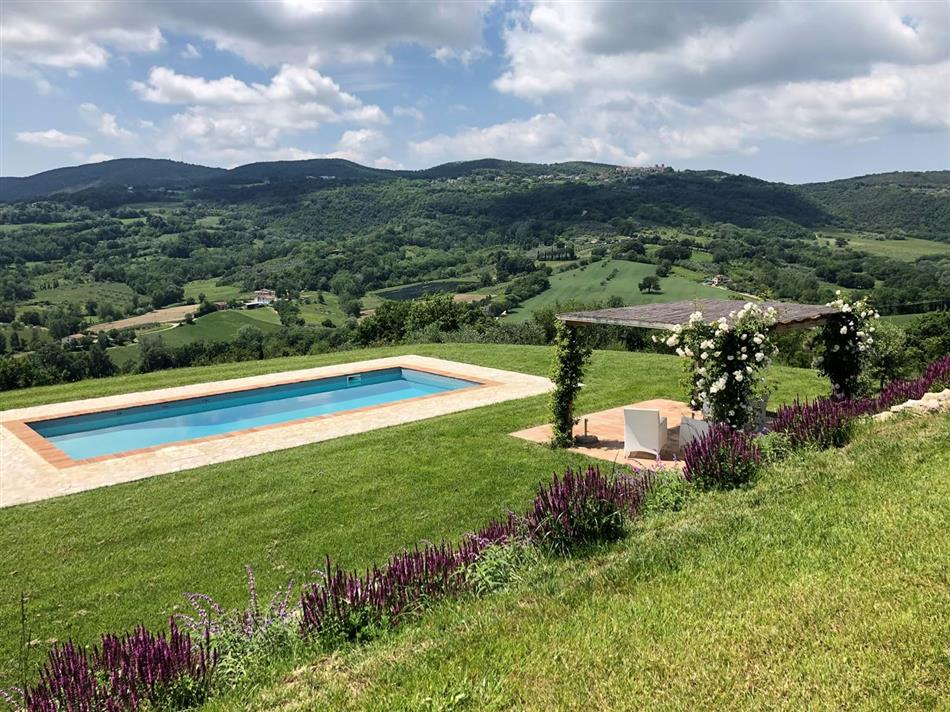 Enjoy the swimming pool at Casa  Canaiolo in Umbria & Lazio, Italy